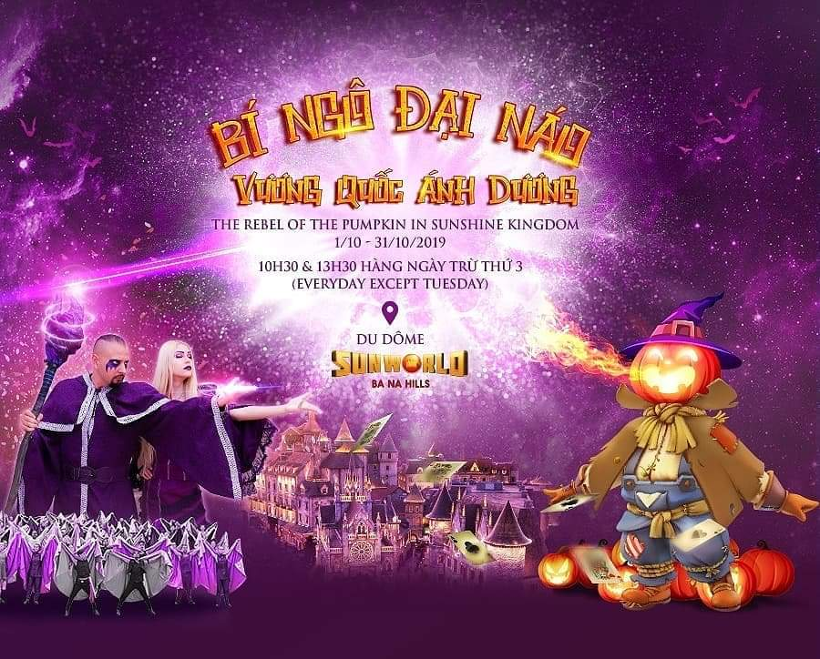 Sun World Ba Na   Hills (Vietnam, Da Nang) and Sunshine   Carnival